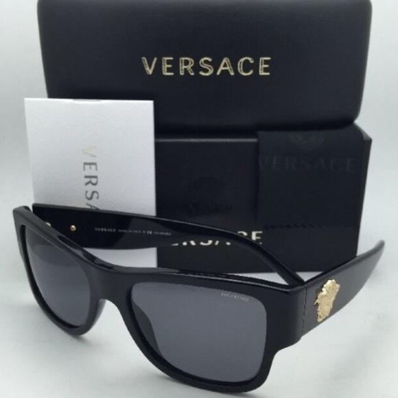 18c7d0a461e NWT Authentic Mens Versace Square Sunglasses